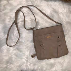NWOT Kim Rogers Faux Leather Crossbody